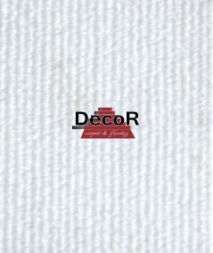 שטיח לבד לבן 2 מטר רוחב