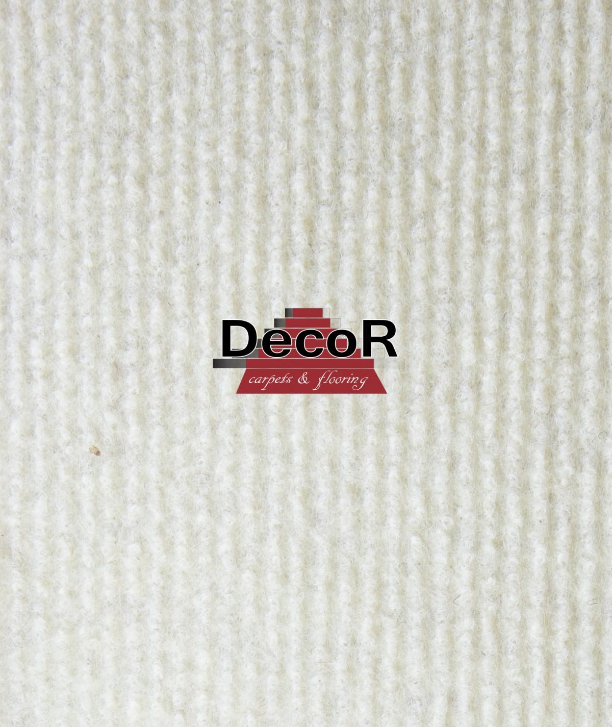 שטיח לבד בצבע שמנת
