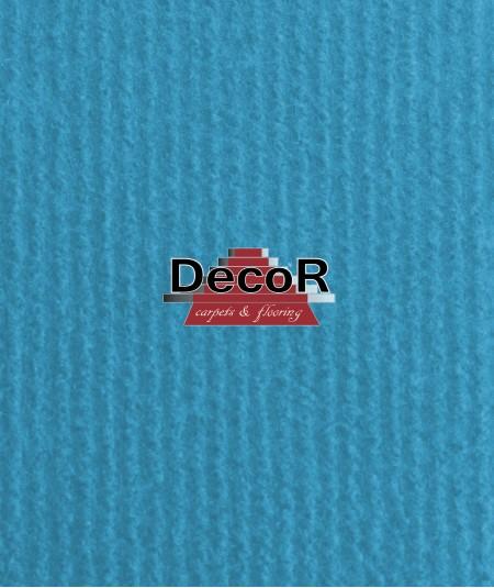 שטיח לבד בצבע תורכיז