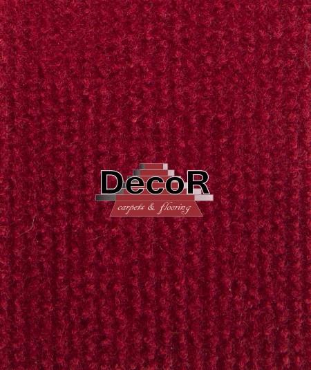 שטיח לבד בצבע בורדו