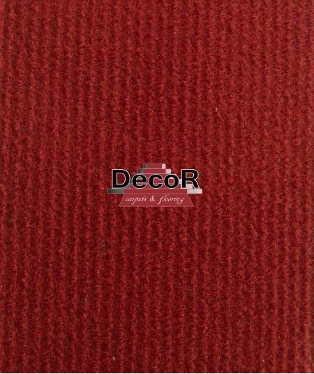 שטיח לבד בצבע אדום