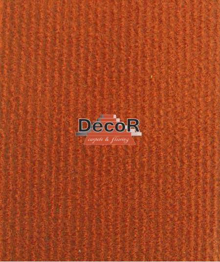 שטיח לבד בצבע כתום
