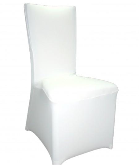 כיסוי לכיסא בצבע לבן
