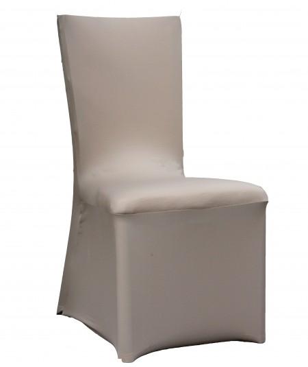 כיסוי לכיסא בצבע כסף