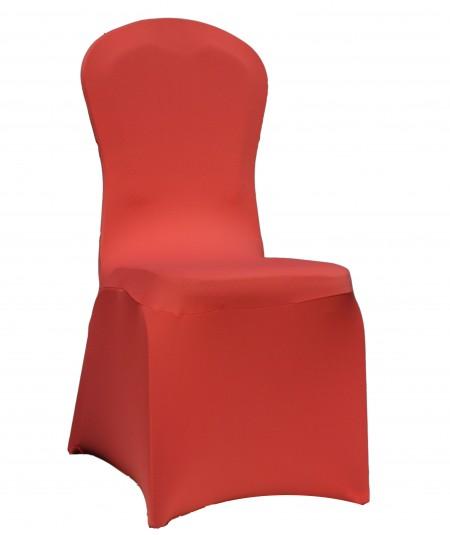 כיסוי לכיסא בצבע אדום