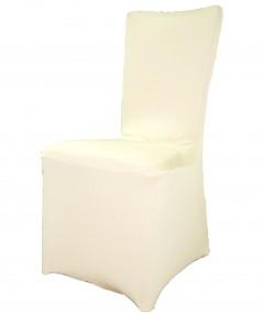 כיסוי לכיסא בצבע שמנת