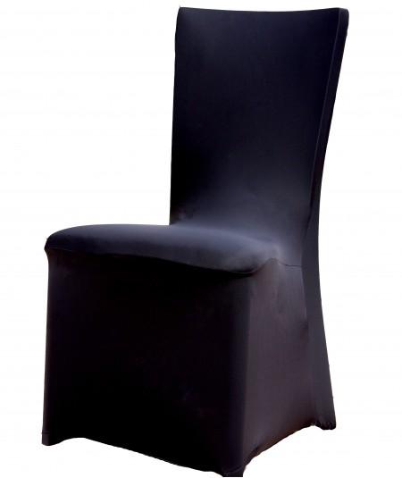 כיסויים לכיסא בצבע שחור