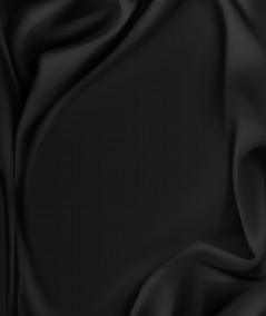 בד סאטן שחור