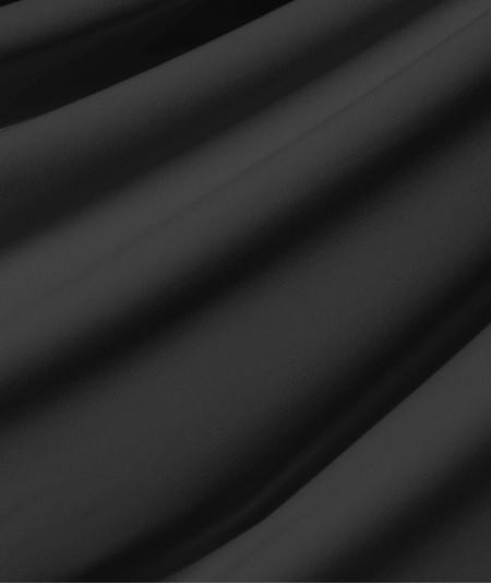 בד ליקרה  בצבע שחור