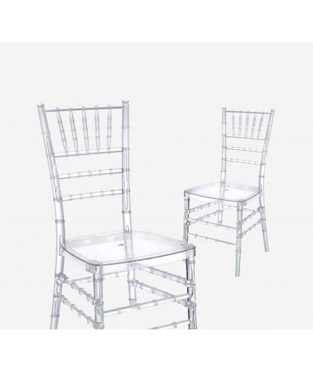 כיסא צ'וברי שקוף